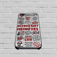 1D Midnight Memories Collage case of iPhone case,Samsung Galaxy