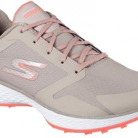 Skechers Ladies Go Golf Shoes - Natural/Coral