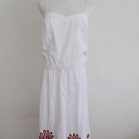 Ben Sherman Floral Applique Sundress XS