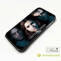 THE VAMPIRE DIARIES iPhone 4/4S 5/5S/SE 5C 6/6S 7 8 Plus X Case Cover