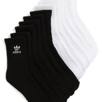 adidas Originals Trefoil 6-Pack Quarter Socks | Nordstrom