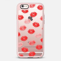 Modern love red watercolor lips pattern by Girly Trend iPhone 6s case by Girly Trend | Casetify