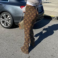 LV Fashion new print women pants trousers