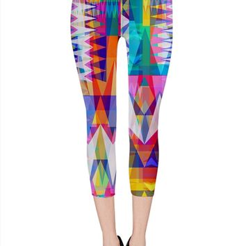 Triangle Collage_MirandaMol Capri Leggings