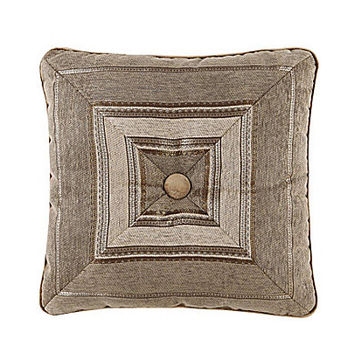 "J. Queen New York Bradshaw 18"" Square Pillow - Natural"