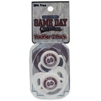 Mississippi State University 2-Pack Infant Pacifiers