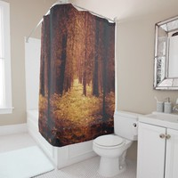 Forest Path... Shower Curtain