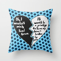 The Fault in Our Stars #9 Throw Pillow by Anthony Londer | Society6