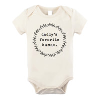Daddy's Favorite Human Organic Onepiece