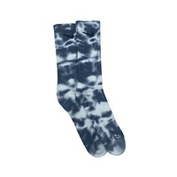 Nike Dri-Fit Tie Dye Gray White Socks