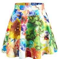 CTC Womens Abstract Print Skater Skirt