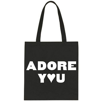 """Harry Styles """"Adore You"""" Tote Bag"""