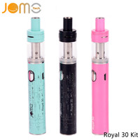 Original Jomotech 5 Colors Electronic Cigarette Mods Royal 30 Box Mod 30w Vape Mod eCigarette Kits VS iStick 30 Subtank Jomo-199
