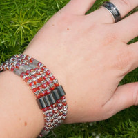 Magnet Bracelets or necklaces, Magnetic Jewelry, Custom Colors available, Wide Variety of colors, fun, easily put on