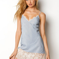 Scalloped Floral Lace Midi Slip - Dream Angels - Victoria's Secret