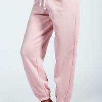 Cindy Pastel Elasticated Cuff Joggers