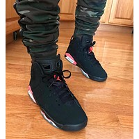 Air Jordan 6 Retro ¡°Black Infrared¡± AJ6 Sneakers