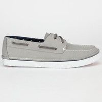 Sperry Top-Sider Cruz Mens Boat Shoes Grey  In Sizes