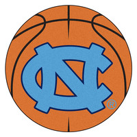 UNC - Chapel Hill NCAA Basketball Round Floor Mat (29) NC Logo