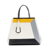 fendi - 2jours large leather tote