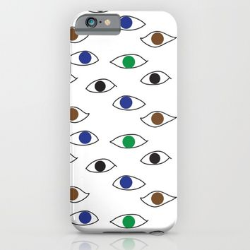 All eyes on you iPhone & iPod Case by SagaciousDesign