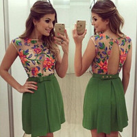 Womens Summer Embroidery Dress Gift 04