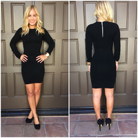 Champagne Little Black Dress