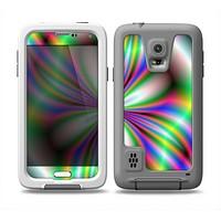 The Neon Tie-Dye Flower Skin for the Samsung Galaxy S5 frē LifeProof Case
