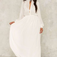 Nasty Gal Eclipse Maxi Dress