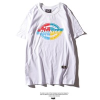 Hot Tunic Dickies logo Women Man Fashion Print Sport Shirt Top Tee