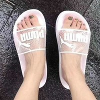 Puma Women Jelly Transparent Slippers Sandals Shoes