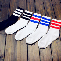 Womens Striped Socks