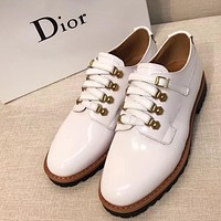 Dior Women Casual Low Heeled Shoes