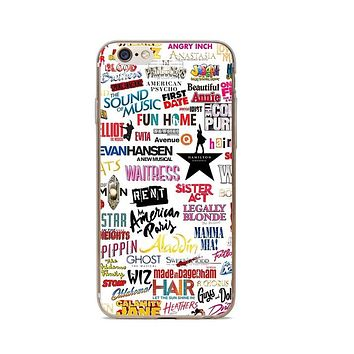 Broadway Musicals Phone Cases Cover for iPhone