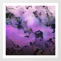 The New Planet Art Print by SensualPatterns