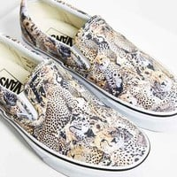 Vans Leopard Slip-On Sneaker- Multi W