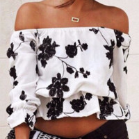 Floral Carly Top