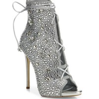 Giuseppe Zanotti - Studded Three-Band Leather Sandals