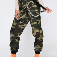 Battle Ready Suspender Cargo Pants