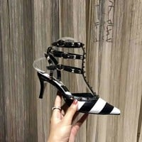 Valentino Women Casual Shoes Boots  fashionable casual leather