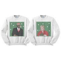 Martha Stewart and Snoop Dogg Duo Sweatshirt Set