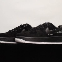[Free Shipping ]Off - White¡Á Air Force 1' 07 Basketball Sneakers