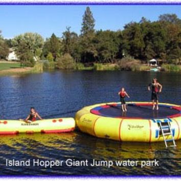 Water Trampolines Manufacturer/Distributor of Water Trampolines, Banana boats and many lake toys