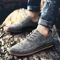 Casual Comfort Hot Deal Hot Sale Stylish On Sale Men Summer Shoes Men's Shoes England Style Vintage Fashion Korean Sneakers [257819213853]