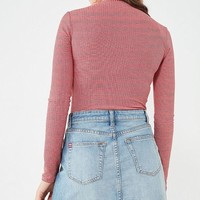 BDG Notched Denim Mini Skirt | Urban Outfitters