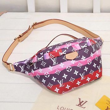 Louis Vuitton LV new waist bag fashion men and women casual sports one-shoulder messenger bag