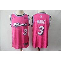 Miami Heat Dwyane Wade 2018/19 Swingman Jersey – Earned Edition