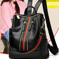 New hot selling fashion vertical square all-match backpack