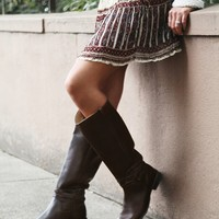 Free People 500 Miles Distressed Boot