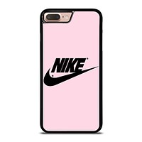 NIKE PINK LOGO iPhone 8 Plus Case Cover